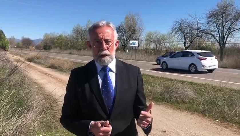 Jaime Ramos video desdoblamiento carretera cervera