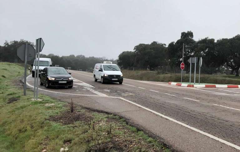 Los parlamentarios del PP exigen a Sánchez la eliminación del peligroso cruce de la N-502 con la carretera de Navalcán y Parrillas