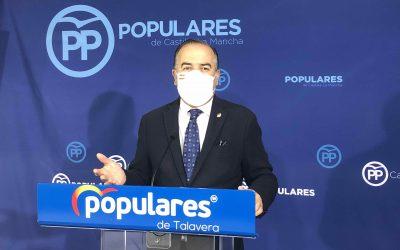 """Gregorio: """"Lo único que trae Page a Talavera son mensajes publicitarios que repite año tras año, y que no cumple"""""""