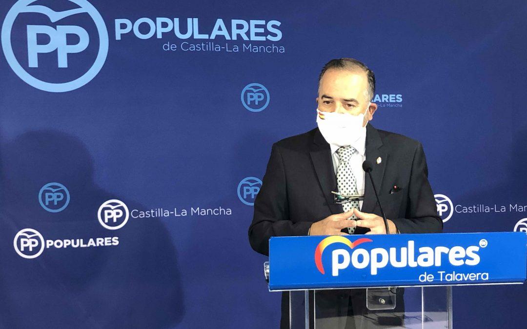 """Gregorio: """"Los parlamentarios del PP estaremos vigilantes para que en los PGE Talavera y la provincia no vuelvan a quedar de vacío"""""""