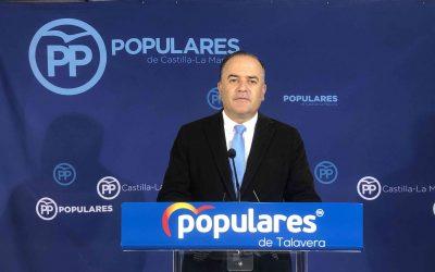 """Gregorio pregunta a la alcaldesa por sus gestiones con Sánchez para que Talavera """"no sea la gran olvidada"""" en los PGE"""